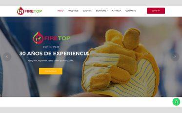 Firetop un sitio web desarrollado por hostswt