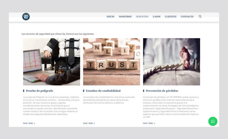 página web de poligrafia