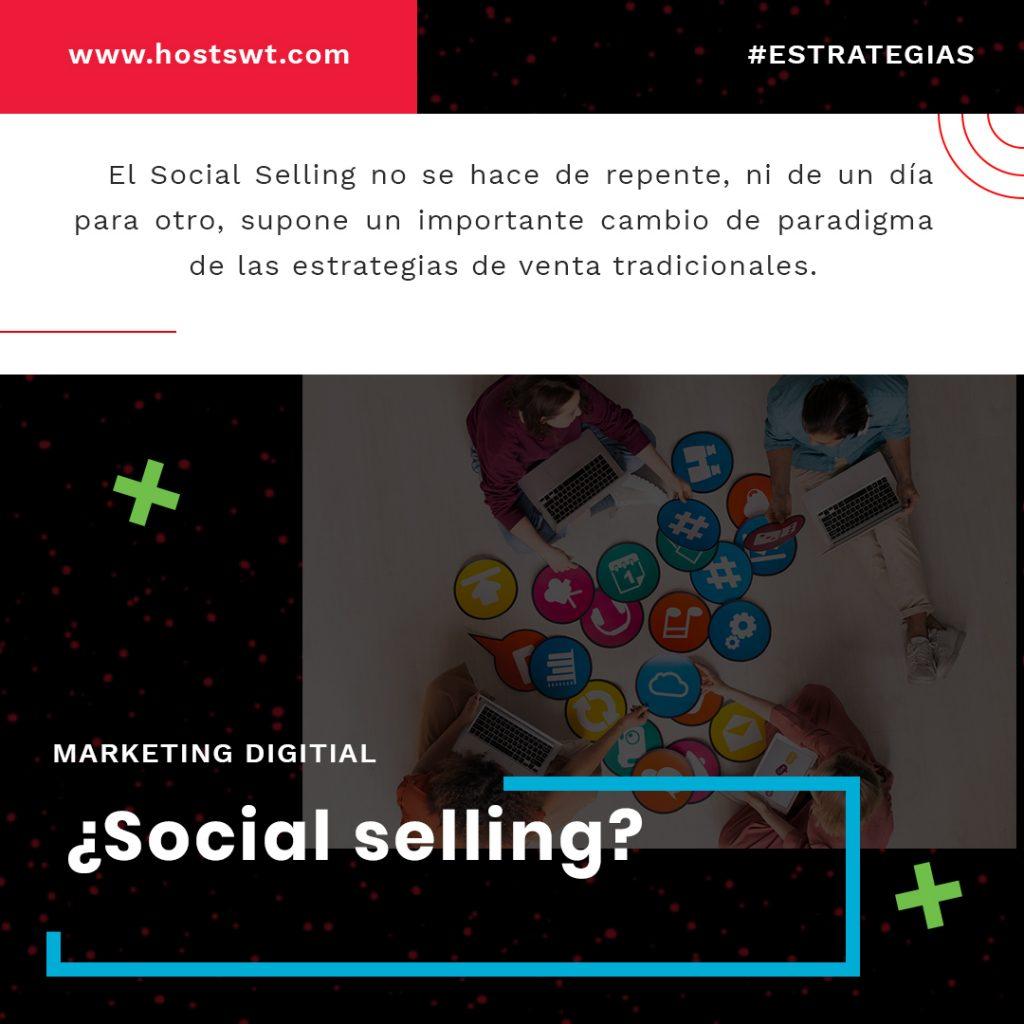 Social selling segun Hostswt