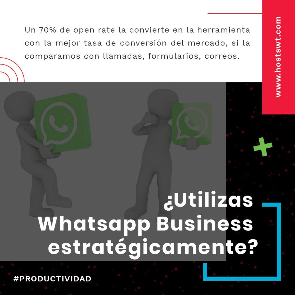 Whatsapp y su uso en mi negocio