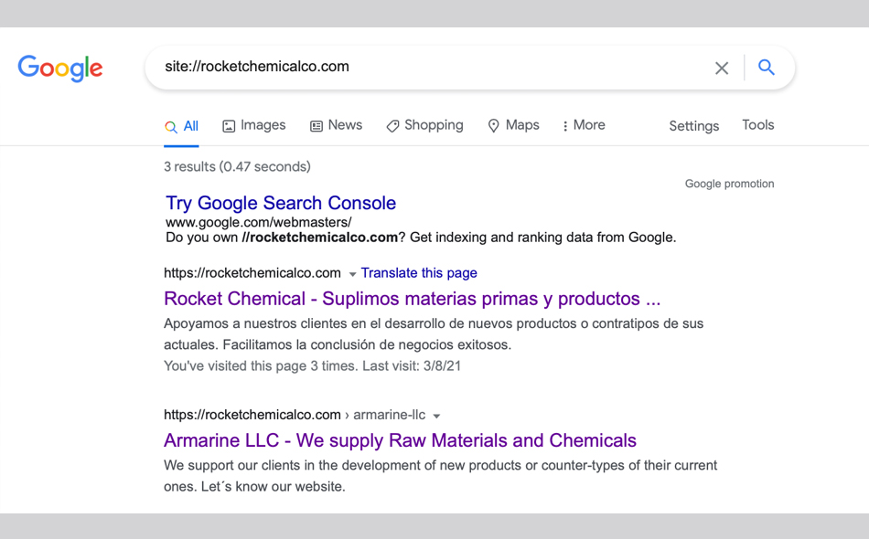 SEo Rocket Chemicalco