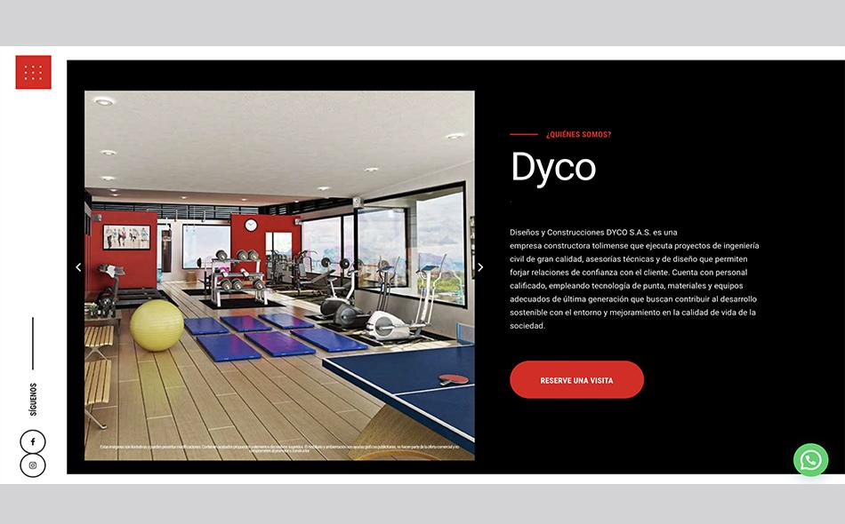 Desarrollo web para Dream Agency